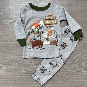Carter's Bear 2 Piece Pijama 12M